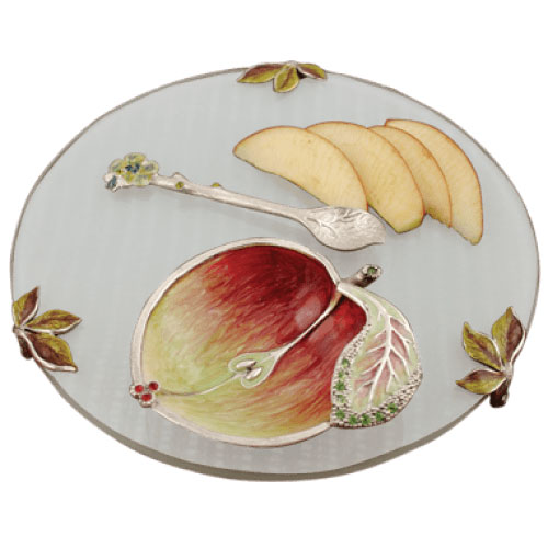 Apple and Honey Plate Set, by Quest